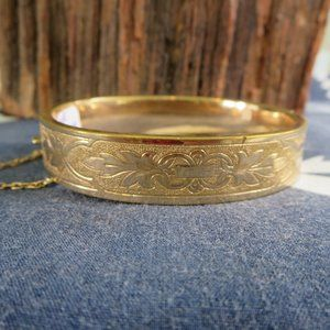 Victorian Gold Filled B&B Hinge Bracelet